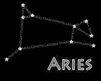 Constellation Aries Royalty Free Stock Images