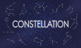 Constellation Astronomy Horoscope Fortune Telling Zodiac Concept Stock Images