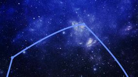 Constellation Auriga (Aur) banque de vidéos