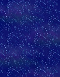 Constellation Background. A constellation background with light purple clouds on dark blue Royalty Free Stock Photography