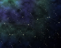 Constellation of big dipper Royalty Free Stock Photos