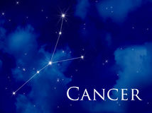 Constellation Cancer Stock Images