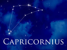 Constellation Capricornius Stock Photography