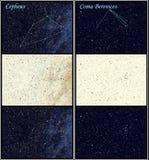 Constellation Cepheus Coma Berenices Stock Image