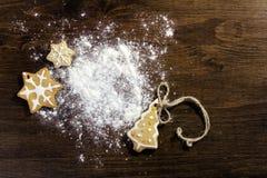 Constellation Christmas tree Royalty Free Stock Image