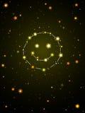 Constellation de bonheur illustration libre de droits