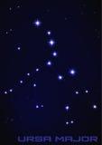 Constellation de commandant d'Ursa Photo libre de droits