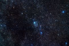 Constellation de Perseus Image libre de droits