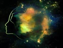 Constellation de vous illustration stock