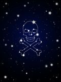 Constellation of death Royalty Free Stock Photos