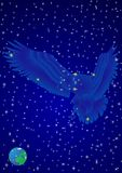 Constellation Eagle Royalty Free Stock Photography