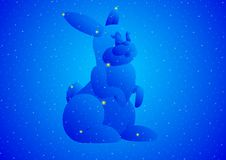 Constellation-Hare Royalty Free Stock Photography