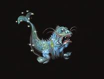 Constellation le monstre de mer Images stock