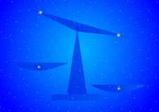 Constellation Libra Royalty Free Stock Photo