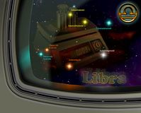 Constellation Libra Stock Image