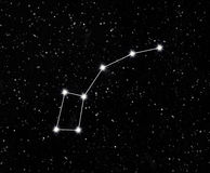 Constellation little Dipper Royalty Free Stock Photos
