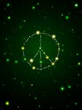 Constellation of peace Royalty Free Stock Photo