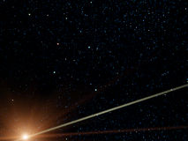 Constellation, Southern Cross,comet Stock Images
