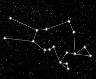 Constellation Taurus Royalty Free Stock Images