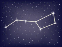 Constellation Ursa Major Stock Photo