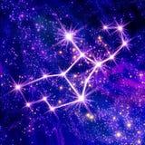 Constellation Virgo Stock Image