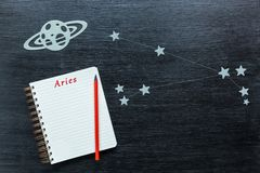 Constellations Aries stock photos