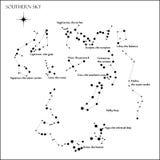 Constellations stock illustration