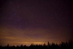 Constelllation夜 图库摄影