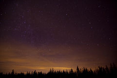 Constelllation night Stock Photography