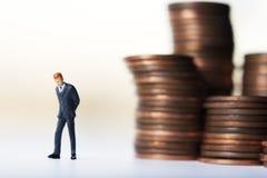 Consternações do dinheiro Imagens de Stock Royalty Free
