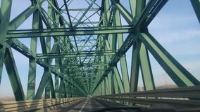 Consteuction моста Стоковая Фотография RF
