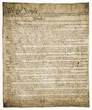 Constitución de Estados Unidos Imágenes de archivo libres de regalías