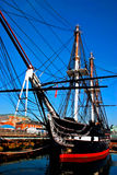 constituition της Βοστώνης uss Στοκ Φωτογραφία