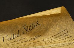 Constitution Royalty Free Stock Photo