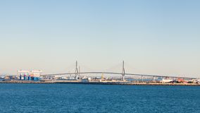 The Constitution of 1812 Bridge. In the Spanish city of Cadiz.  The bridge is also known as La Pepa Bridge Stock Image