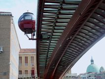 Constitution Bridge and elevator royalty free stock images