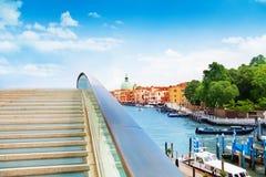 Constitution bridge in Venice Stock Photography