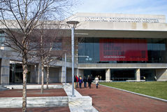 Constitution Center Philadelphia. A view of The Constitution Center in historic Philadelphia Royalty Free Stock Images
