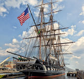 Constitution d'USS (vieil Ironsides) Photo stock