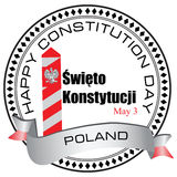 Constitution Day - May 3 in Poland Stock Images