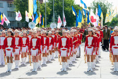 Constitution Day of Ukraine Royalty Free Stock Photography
