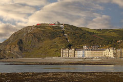 Constitution Hill Aberystwyth Stock Image