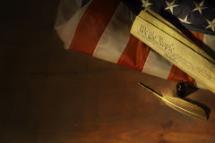 CONSTITUTION - we are the people Royalty Free Stock Image