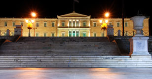 Constitution Square, Athens Royalty Free Stock Photos