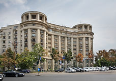 Constitution square in Bucharest. Romania Royalty Free Stock Images