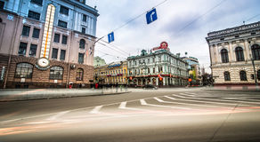 Constitution Square in Kharkiv Royalty Free Stock Photography