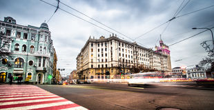 Constitution Square in Kharkiv Royalty Free Stock Photo