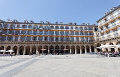 Constitution Square in San Sebastián Royalty Free Stock Photography