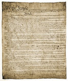 Constitution of United States Royalty Free Stock Images