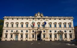 Constitutional Court of the Italian Republic stock photography